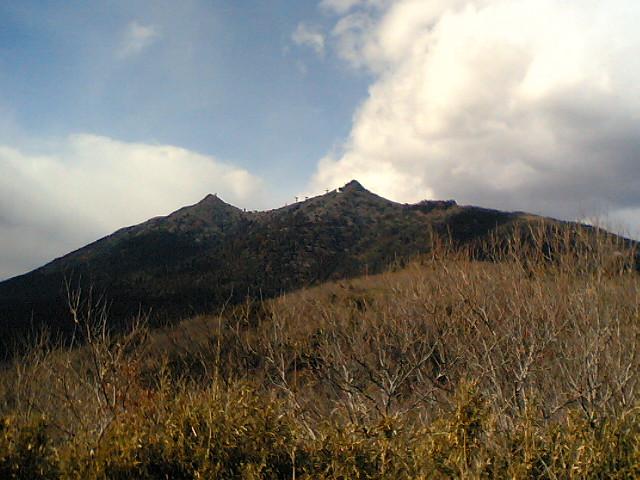 先日の筑波山