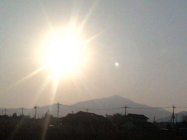 今日の筑波山
